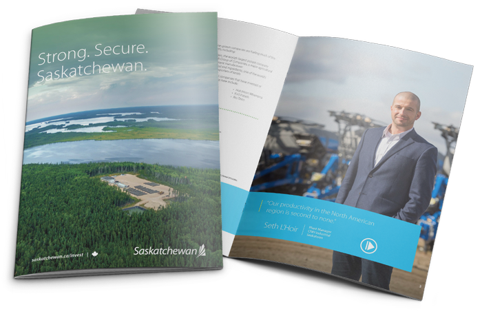 Saskatchewan Economic Overview Brochure