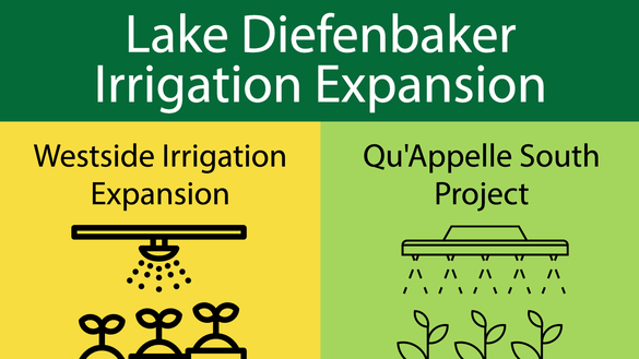 Saskatchewan Announces $4 Billion Irrigation Project At Lake Diefenbaker