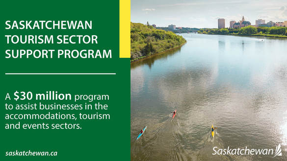Saskatchewan Announces $35 Million In Support For Tourism Sector