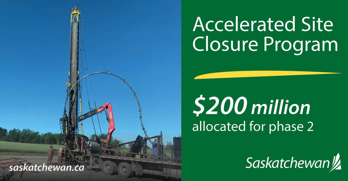 $200 Million For Oil And Gas Service Workers In Saskatchewan