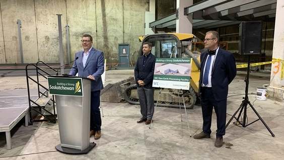 Rare earth elements plant in Saskatoon touted as North America's first