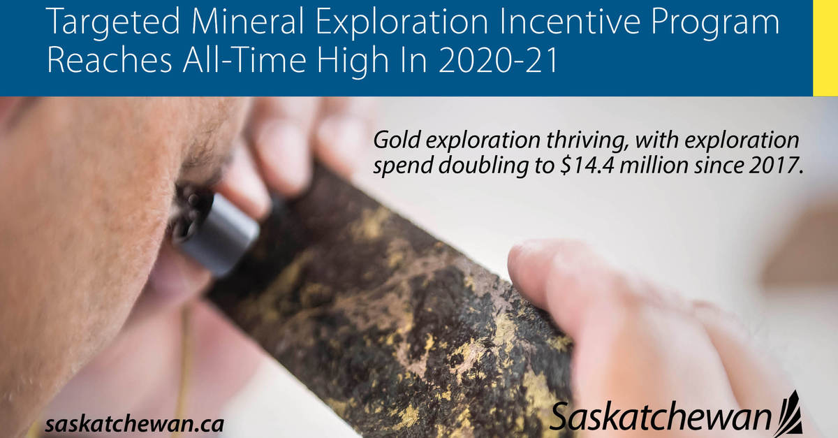 Strong Year For Targeted Mineral Exploration Incentive Program