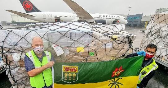 Ventilators from Saskatchewan Arrive in India