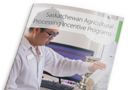 Saskatchewan Value-Added Agriculture Incentive (SVAI)