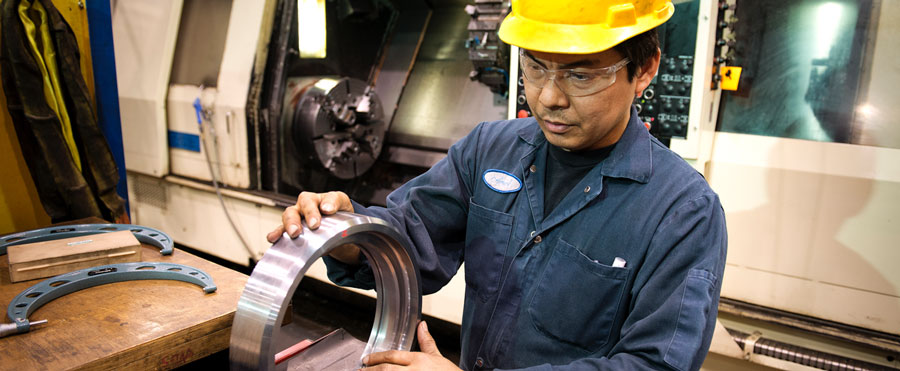 Saskatchewan Manufacturing employee working